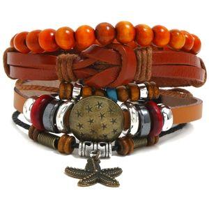 Boho Festival Genuine Leather Bracelet